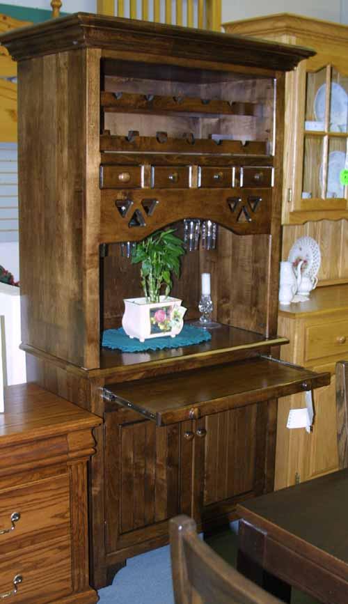 Mennonite Maple Wood Bar Furniture Lloyd S