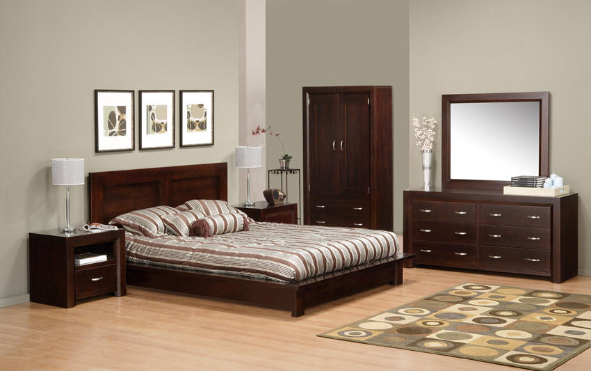 solid wood bedroom furniture decoration access
