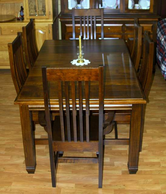 Maple Florentino Dining Room With 4 Side Chairs And 2 Arm Lloyds Furniture Bradford Our New Store In Schomberg Ontario