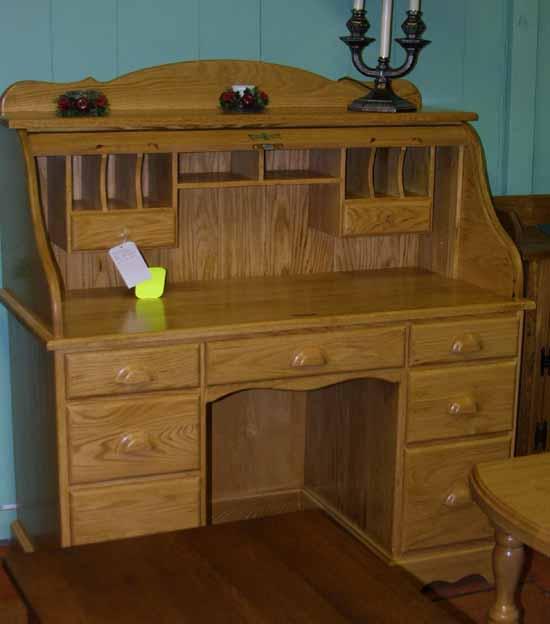 Mennonite Roll Top Desk Furniture, Lloydu0027s Mennonite Furniture, Lloydu0027s Mennonite  Furniture, Bradford Ontario Canada.